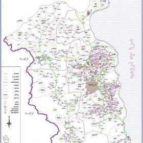 نقشه شهرستان ارومیه - آذربایجان غربی - فایل اتوکدی و PDF