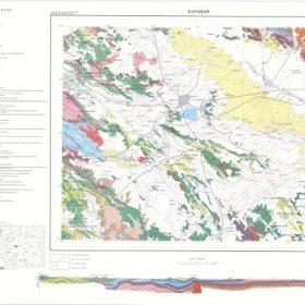 دانلود نقشه زمین شناسی منطقه اصفهان در قالب فایل PDF