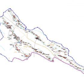 دانلود نقشه اتوکدی شهرستان گیلانغرب