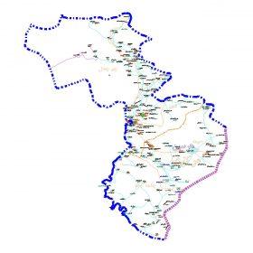دانلود نقشه اتوکدی شهرستان هرسین