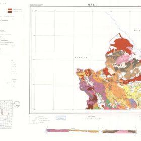 دانلود نقشه زمین شناسی منطقه ماکو در استان آذربایجان غربی در قالب فایل PDF