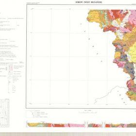 دانلود نقشه زمین شناسی منطقه سرو در استان آذربایجان غربی در قالب فایل PDF