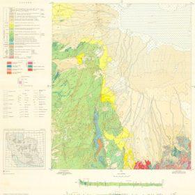دانلود نقشه زمین شناسی منطقه بیاضه در استان اصفهان در قالب فایل PDF