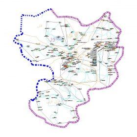 دانلود نقشه اتوکدی شهرستان کنگاور