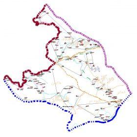 دانلود نقشه اتوکدی شهرستان پاوه- استان کرمانشاه