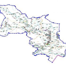 دانلود نقشه اتوکدی شهرستان صحنه