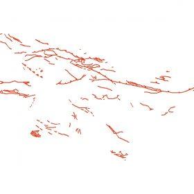 دانلود شیپ فایل GIS موقعیت گسل ها در تهران