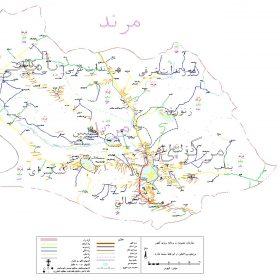 دانلود نقشه اتوکدی شهرستان مرند