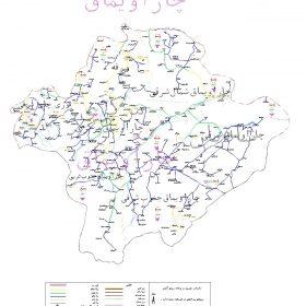 دانلود نقشه اتوکدی شهرستان چاراویماق