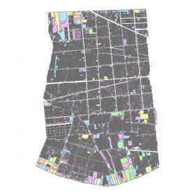 دانلود شیپ فایل GIS کاربری اراضی منطقه ده تهران