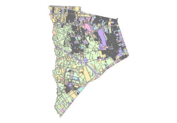 دانلود شیپ فایل GIS کاربری اراضی منطقه هیجده تهران
