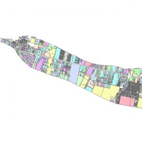 دانلود شیپ فایل GIS کاربری اراضی منطقه بیست و یک تهران
