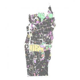 دانلود شیپ فایل GIS کاربری اراضی منطقه دو تهران
