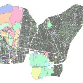 دانلود شیپ فایل GIS کاربری اراضی منطقه سه تهران