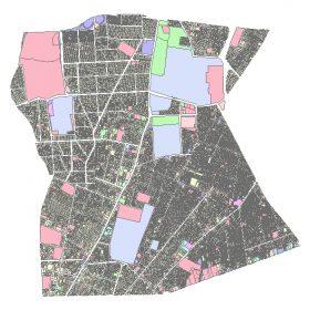 دانلود شیپ فایل GIS کاربری اراضی منطقه هفت تهران