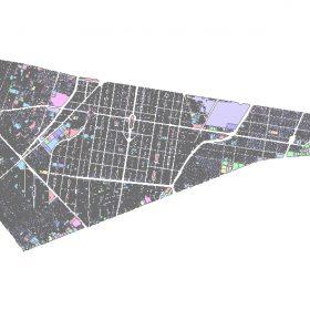 دانلود شیپ فایل GIS کاربری اراضی منطقه هشت تهران