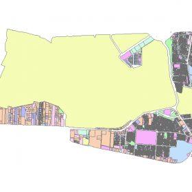 دانلود شیپ فایل GIS کاربری اراضی منطقه نه تهران