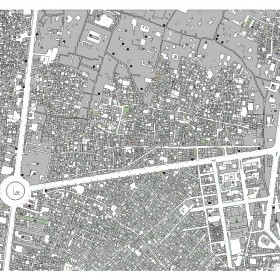 دانلود نقشه اتوکدی منطقه بازار تهران