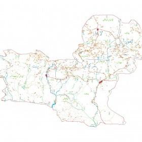 دانلود نقشه اتوکدی شهرستان نیکشهر