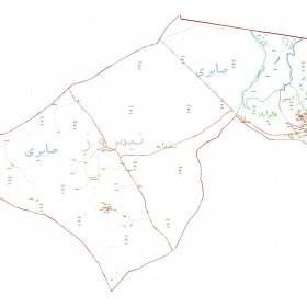 دانلود نقشه اتوکدی شهرستان نیمروز