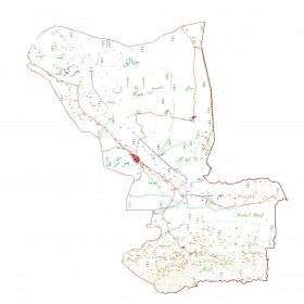 دانلود نقشه اتوکدی شهرستان سراوان