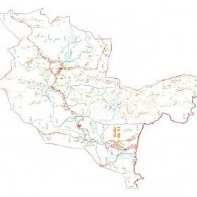 دانلود نقشه اتوکدی شهرستان سرباز