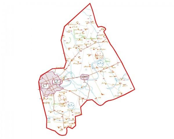 دانلود نقشه اتوکدی شهرستان زابل