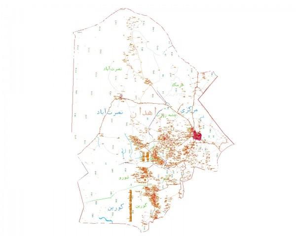 دانلود نقشه اتوکدی شهرستان زاهدان