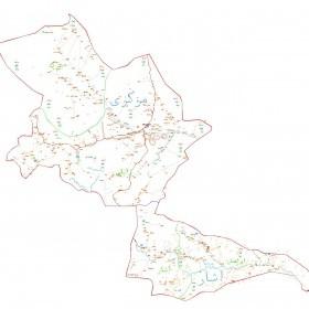 دانلود نقشه اتوکدی شهرستان مهرستان