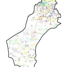 دانلود نقشه اتوکدی شهرستان املش - استان گیلان