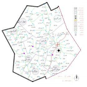 دانلود نقشه اتوکدی شهرستان اسدآباد - استان همدان