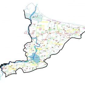 دانلود نقشه اتوکدی شهرستان آستانه اشرفیه - استان گیلان