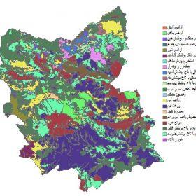 دانلود شیپ فایل GIS کاربری اراضی استان آذربایجان شرقی