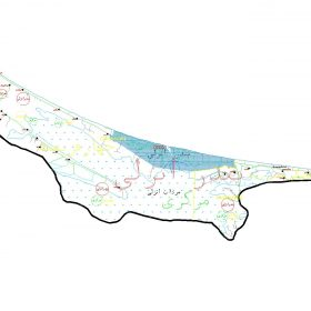 دانلود نقشه اتوکدی شهرستان بندر انزلی - استان گیلان