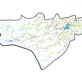 دانلود نقشه اتوکدی شهرستان فومن - استان گیلان