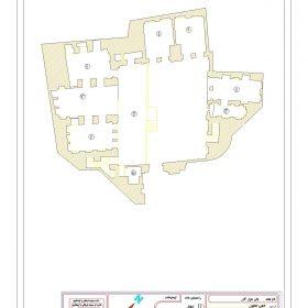 دانلود نقشه اتوکدی خانه تاریخی گازر شوشتر