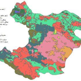 دانلود شیپ فایل GIS کاربری اراضی استان قزوین