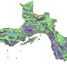 دانلود شیپ فایل GIS کاربری اراضی استان هرمزگان