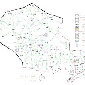 دانلود نقشه اتوکدی شهرستان کبودر آهنگ - استان همدان