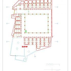 دانلود نقشه اتوکدی کاروانسرای افضل شوشتر