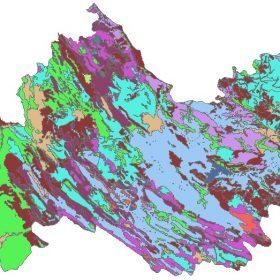 دانلود شیپ فایل GIS کاربری اراضی استان کرمانشاه