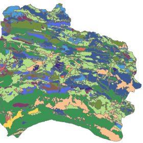 دانلود شیپ فایل GIS کاربری اراضی استان خراسان شمالی