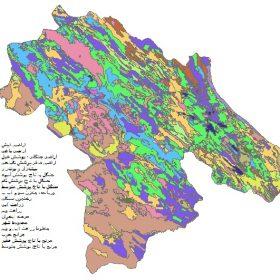 دانلود شیپ فایل GIS کاربری اراضی استان کهگیلویه و بویراحمد