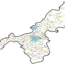 دانلود نقشه اتوکدی شهرستان لاهیجان - استان گیلان