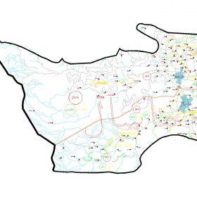 دانلود نقشه اتوکدی شهرستان ماسال - استان گیلان