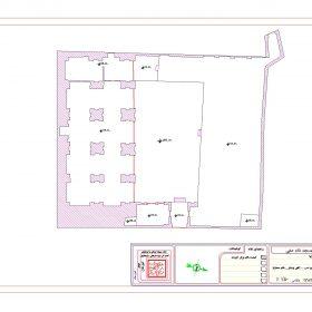 دانلود نقشه اتوکدی مسجد شاه صفی شوشتر
