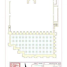دانلود نقشه اتوکدی مسجد جامع شوشتر