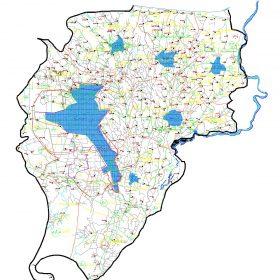 دانلود نقشه اتوکدی شهرستان رشت - استان گیلان