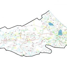 دانلود نقشه اتوکدی شهرستان رضوانشهر - استان گیلان