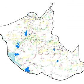 دانلود نقشه اتوکدی شهرستان رودبار - استان گیلان